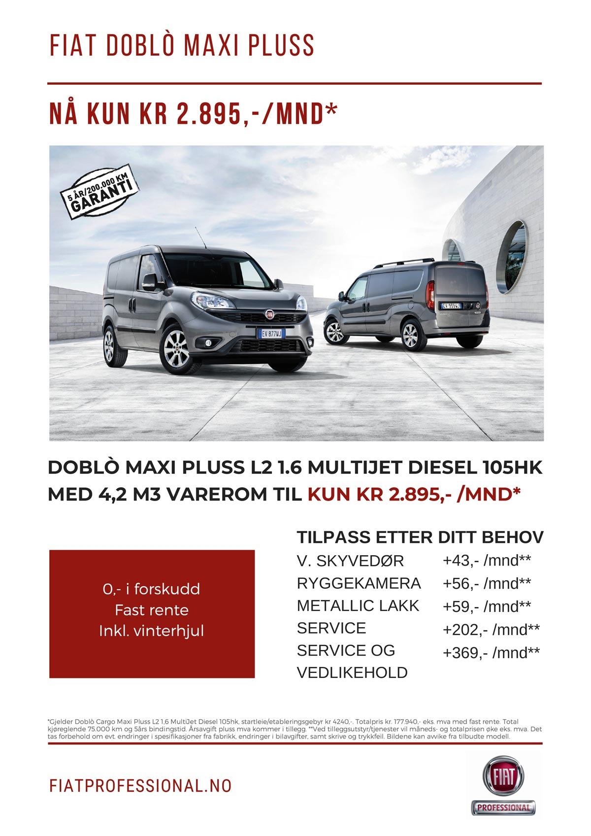 Fiat Doblo maxi pluss
