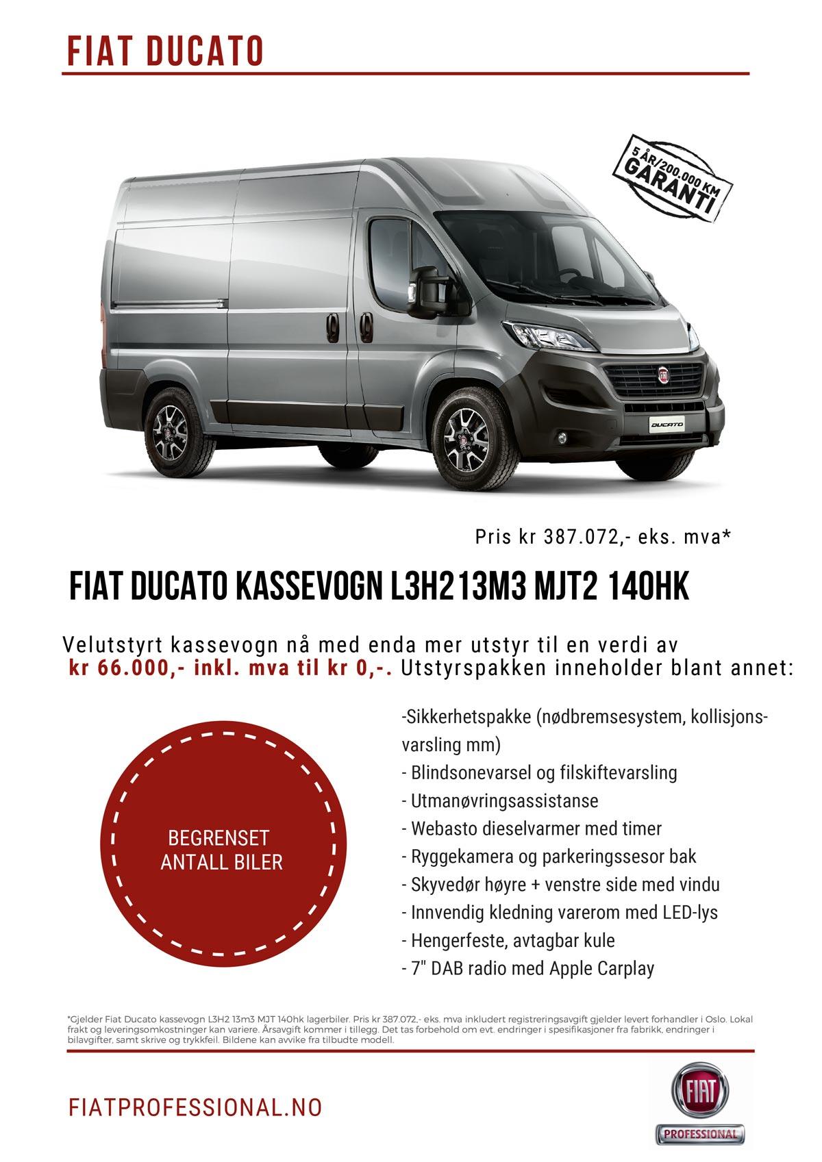 Fiat Ducato kampanje